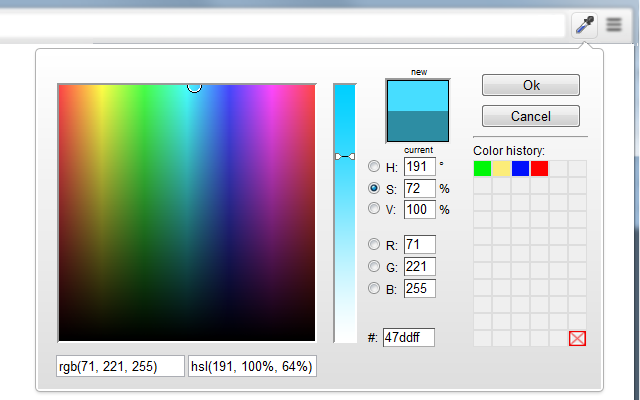 ColorZilla Color Picker