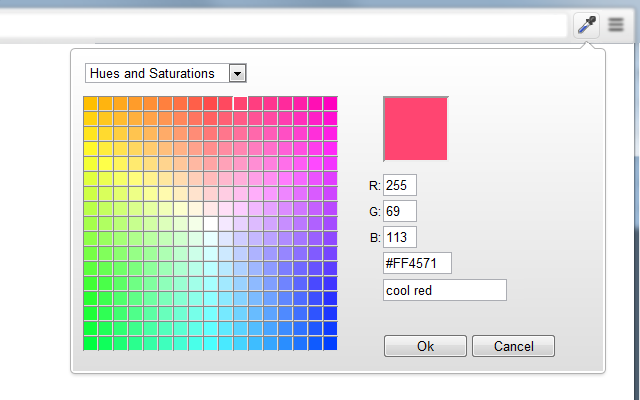 ColorZilla Palette Viewer